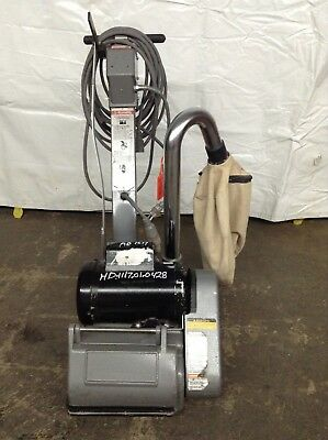 Clarke Ez-8 Drum Floor Sander Wood Refinishing Deck Sanding Floorboards