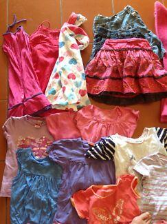 Size 5 bulk girls clothes Bonogin Gold Coast South Preview