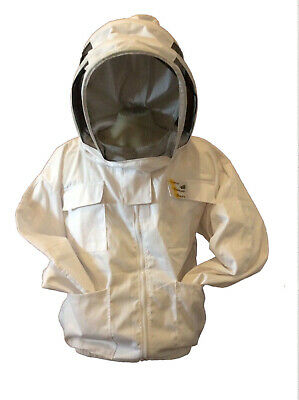 Beekeeper Jacket With Veil Beekeeping Jacket Bee Keeper Jacket Bee Jacket