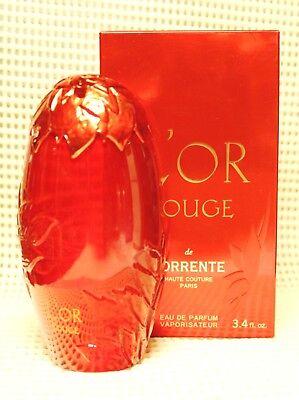 L'OR Rouge By Torrente (3.4oz/100ml) Eau De Parfum Immaculate for sale  Rego Park