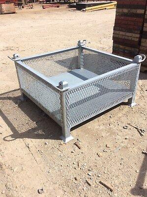 Heavy Duty Stackable Storage Bin W Lifting Lugs 12 Size