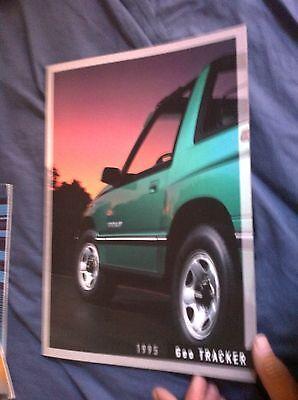 1995 Suzuki GEO Tracker USA Market  Brochure Catalog Prospekt