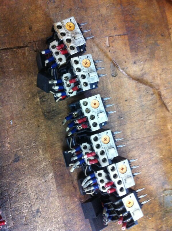 ONE FUJI ELECTRIC SC-03 CONTACTOR MOTOR STARTER OVERLOAD TR-ON/3