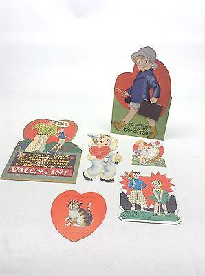 Vintage Lot Of Valentines Carrington, USA, Etc.