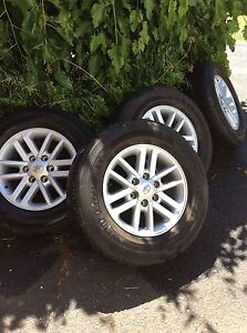 Toyota Hilux SR5 17 inch Wheels & tyres with nuts Upwey Yarra Ranges Preview