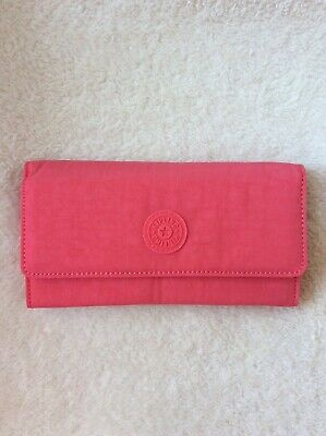 Kipling New Teddi Snap Wallet - Grapefruit Tonal