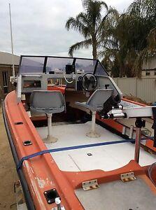 115 HP EFI Fourstroke Mercury on 5.2 Savage escort Cobram Moira Area Preview