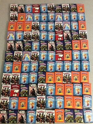 Mixed Lot of 110 Sticker Treats Valentines Classroom Exchange Avengers Frozen](Valentine Treats)