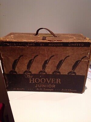 Vintage hoover junior box