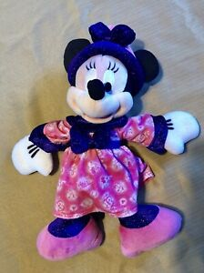 DISNEY PARK Minnie Mouse Plush Toy 2013 Believe in Magic
