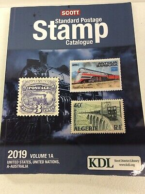 2019 SCOTT STANDARD POSTAGE STAMP CATALOGUE PB VOL 1A United States, UN, A-AUS