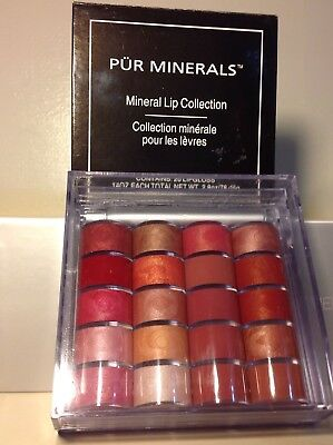 Pur Minerals Sheer (Pur Minerals Mineral Lip Collection - Contains 20 Lip Gloss Pallette 2.8 oz $49 )