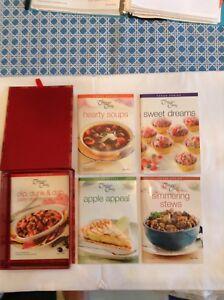 Company's Coming cookbooks in gift box