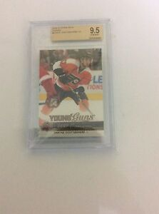 Shayne Gostisbehere Canvas Young Guns BGS 9.5