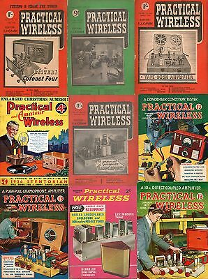 Collection of 71+ Practical Wireless & Vintage Audio Magazines