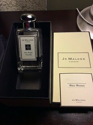 Jo Malone London Red Roses Cologne 100ml/3.4oz spray New Box As Seen In pictures