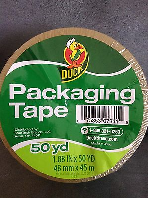 Duck Clear Packaging Shipping Tape 50 Yd 1.88 In X 50 Yd - Lot Of 10 - Free Ship