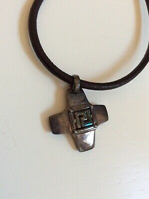 gianni versace necklace silver vintage