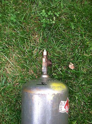 B 40cf Acetylene Welding Gas Cylinder Tank Bottle Used