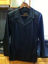 Ladies Black Leather jacket, size 10/12 Innaloo Stirling Area Preview