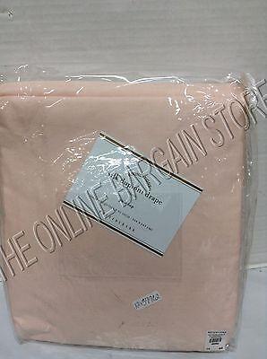 Pottery Barn Silk Dupioni Drapes Curtains Panels Cotton Lining 104x96 Petal Pink