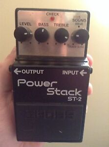 Boss power stack distortion