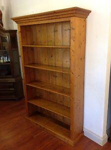Distressed Look Baltic Pine Bookshelf Mulgrave Monash Area Preview