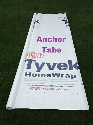 9 Dupont Tyvek Homewrap Sold By The Linear Foot From 9 Ft. Roll
