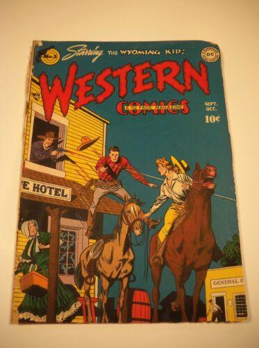 Western Comics #5: The Wyoming Kid 1948