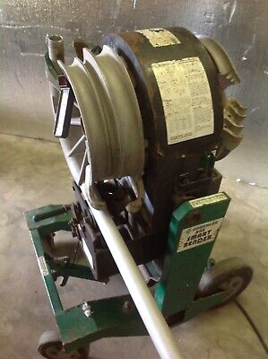 Greenlee 855 Conduit Electric Smart Bender Programmable Pipe 12 - 2 Emt Rigid
