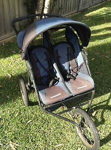 Baby trend expedition double pram North Narrabeen Pittwater Area Preview