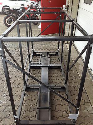MOTORRAD-TRANSPORTBOX für normale Motorräder und Roller ( ohne Topcase )
