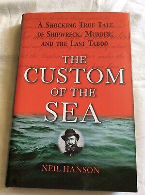 The Custom of the Sea, Neil Hanson, brand new, mint