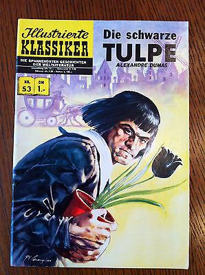 Originalausgabe Illustrierte Klassiker Nr. 53 Die Schwarze Tulpe BSV Verlag