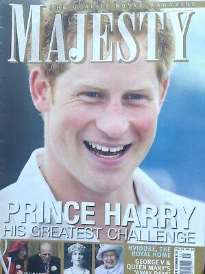 Majesty Magazine Prince Harrys Great Challenge October 2012 093017Nonrh