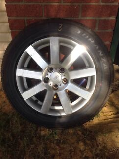 (Ref 3) Ford ba BF FG rims and tyres 225/50/17 Kelmscott Armadale Area Preview