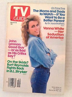 Tv Guide Magazine Vanna White John Lennon March 4 10 1989 021917Rh