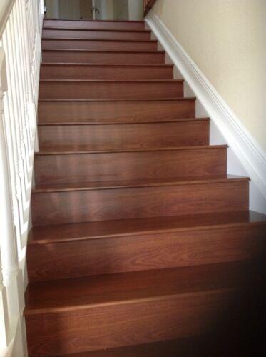 Laminate Flooring Stair Tread System  $ 160.00 per box of 04 Kits