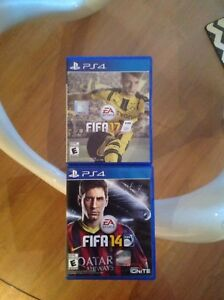Fifa 17 for PS4 20$ / Fifa 14 5$