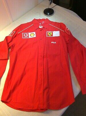 formula 1 shirt - Ferrari / Vodafone / Shell long sleeve Team Shirt (XL) NOW $59