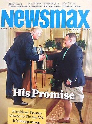 Newsmax Magazine Donald Trump August 2017 100717nonrh