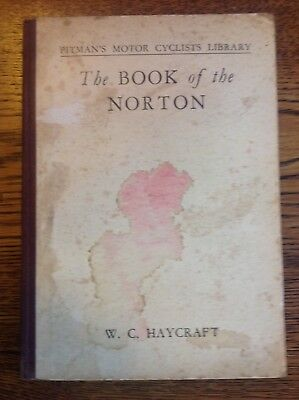 The Book of the Norton - W C Haycraft - 1942 Edn