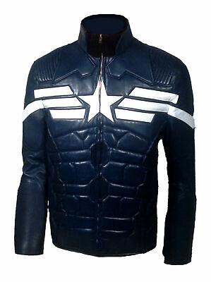 Captain America der Winter Soldat Rächer Chris Evans Lederjacke - Der Winter Soldat Kostüm
