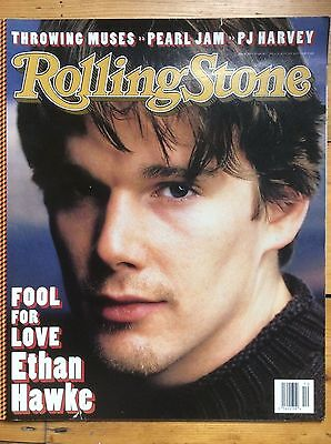 - Rolling Stone #703 Ethan Hawke cover, Kristin Hersh, Flaming Lips, Willie Nelson