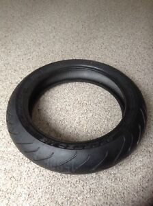 Sport bike motorcycle tire