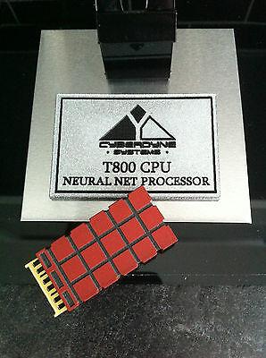 Terminator T-800 CPU 'Brain Chip' Prop Replica