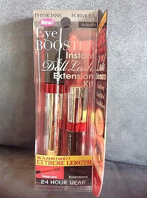 Physicians Formula Eye Booster Instant Doll Lash Extension Kit  6628 Ultra Black