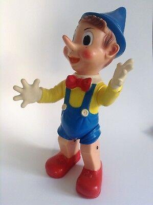 SUPERBE Grande Figurine Pouet 45 CM PINOCCHIO PROCHE DU NEUF
