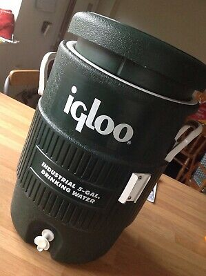 Igloo 5 Gallon Drinks Cooler Beverage Dispenser Party Sports Camping Fishing