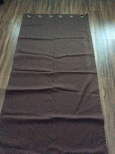 Dark Brown Blackout Drapes
